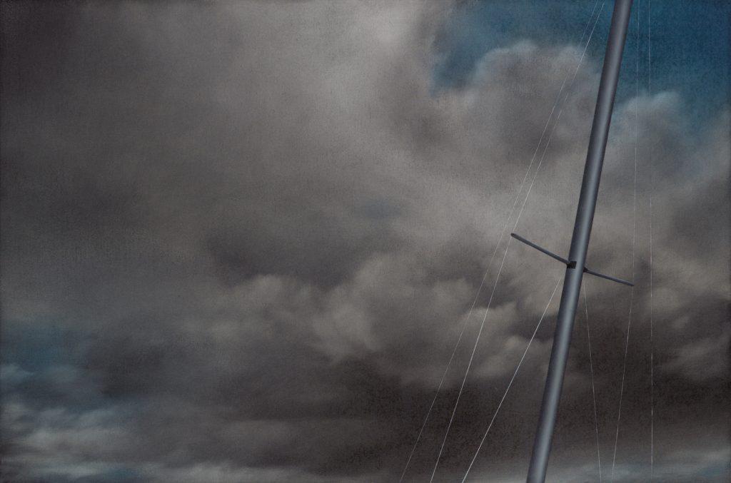 Maritime, 2008, oil on canvas, 76×120