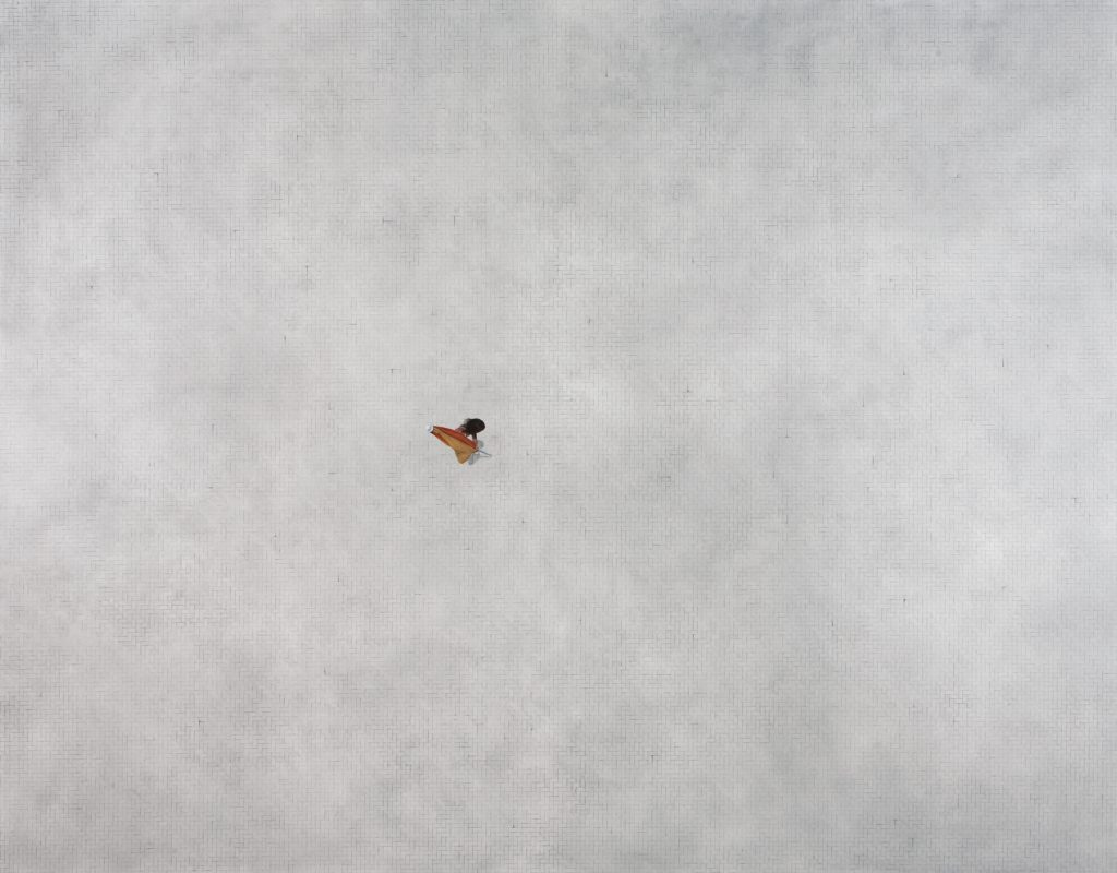 Untitled, 2009, oil on canvas, 196×250, collection of Livia and Marc Strauss, New York