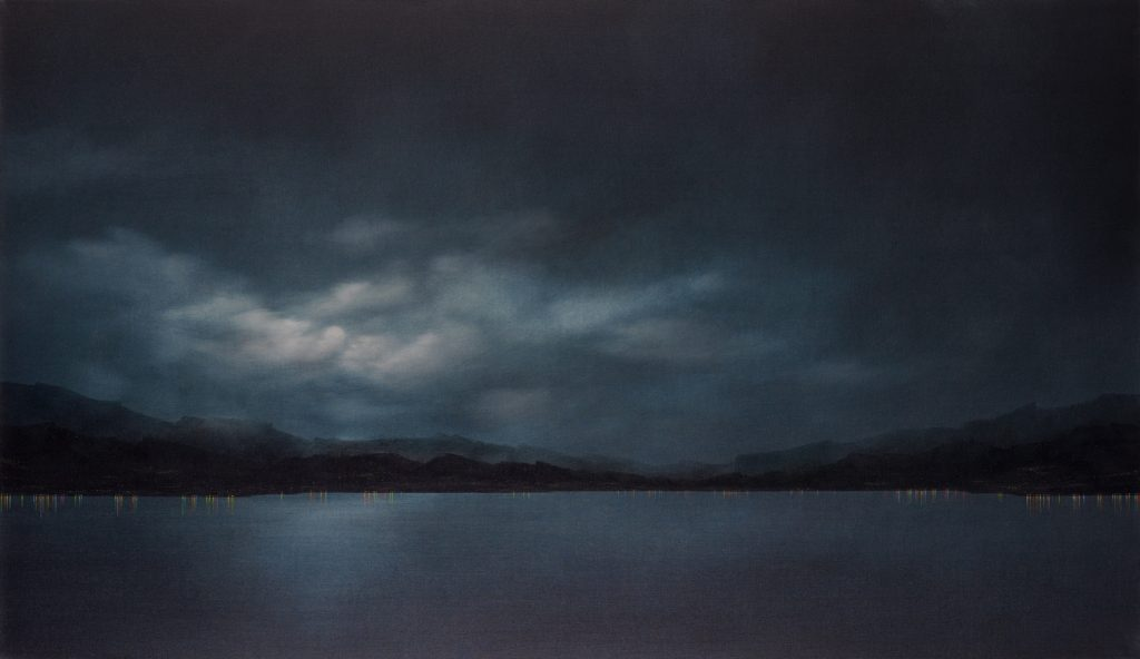 Echo, 2010, oil on canvas, 100×172