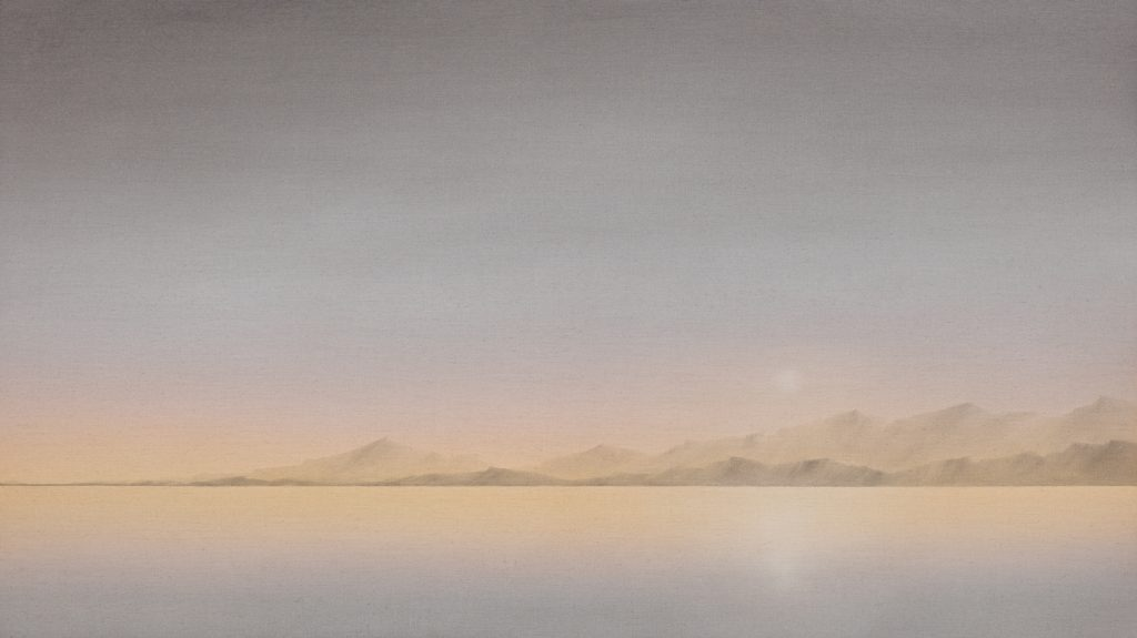 Echo, 2010, oil on canvas, 62×110