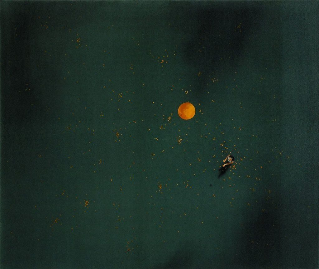 Make a Wish, 2005, oil on canvas, 148×175, private collection, Herzliya